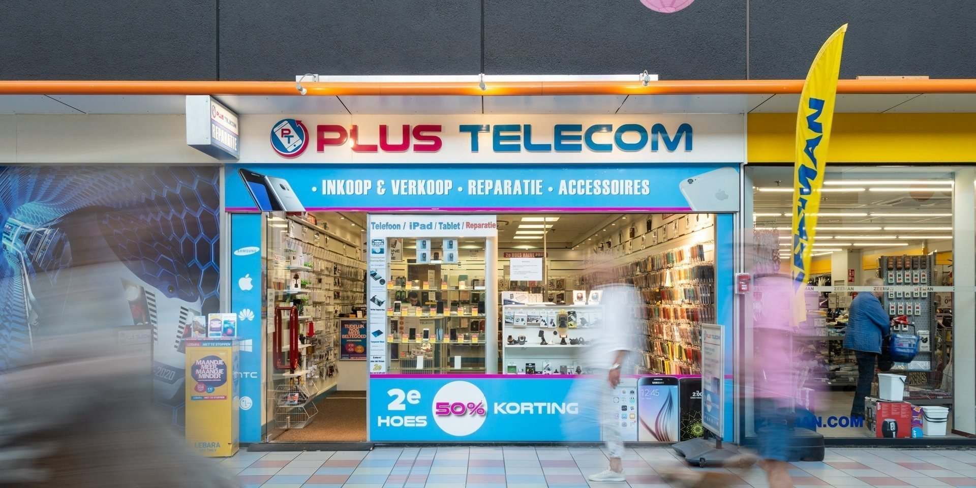 Mobiele telefonie, reparatie en accessoires
